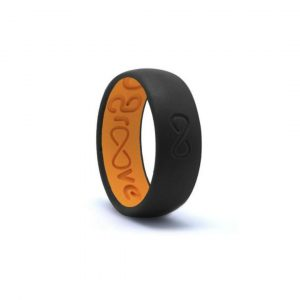 GROOVE ORIGINAL BLACK & ORANGE RING