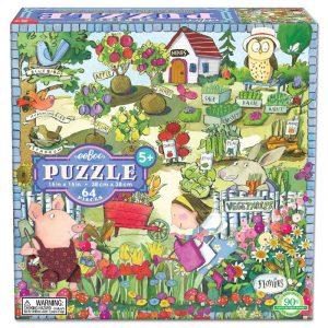 GROWING A GARDEN PUZZLE