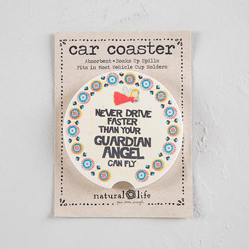 GUARDIAN ANGEL CAR COASTER