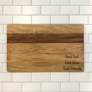 GUM CREEK CUTTING BOARDS FLAT GRAIN LARGE GOOD FOOD...