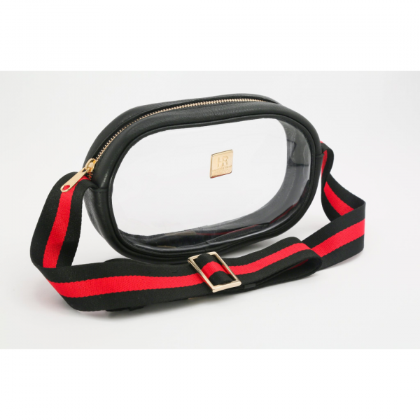 HAMPTON ROAD ANNIE BLACK WITH BLACK AND RED STRAP