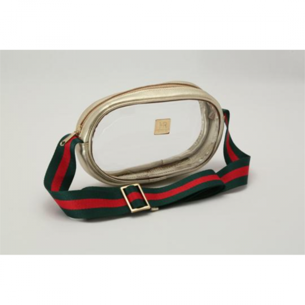 HAMPTON ROAD ANNIE GOLD WITH GREEN AND RED STRAP