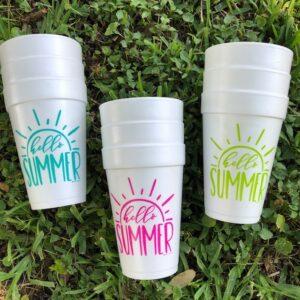 HELLO SUMMER STRYO CUPS