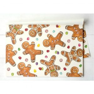 HESTER & COOK GINGERBREAD MEN PLACEMAT