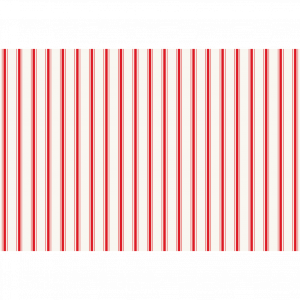 HESTER & COOK RED RIBBON STRIPE PLACEMATS