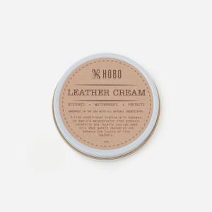 HOBO HANDBAG LEATHER CREAM