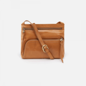 HOBO HANDBAGS CASSIE VINTAGE LEATHER CROSSBODY