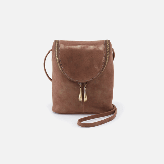 HOBO HANDBAGS FERN VELVET HIDE CROSSBODY