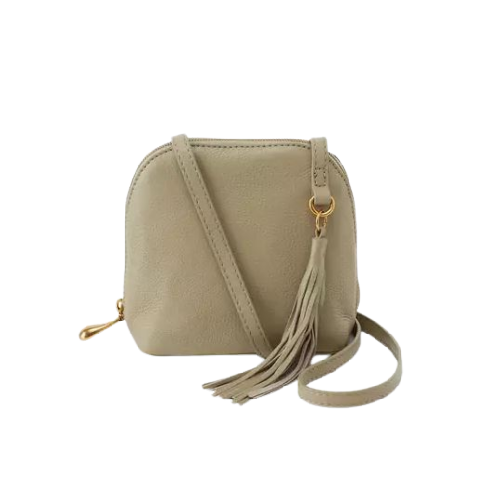 HOBO HANDBAGS NASH VELVET HIDE LEATHER CROSSBODY