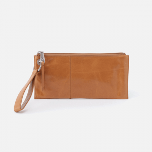 HOBO HANDBAGS VIDA VINTAGE LEATHER WRISTLET