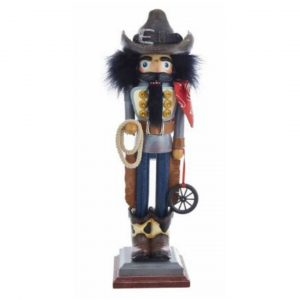 HOLLYWOOD COWBOY NUTCRACKER