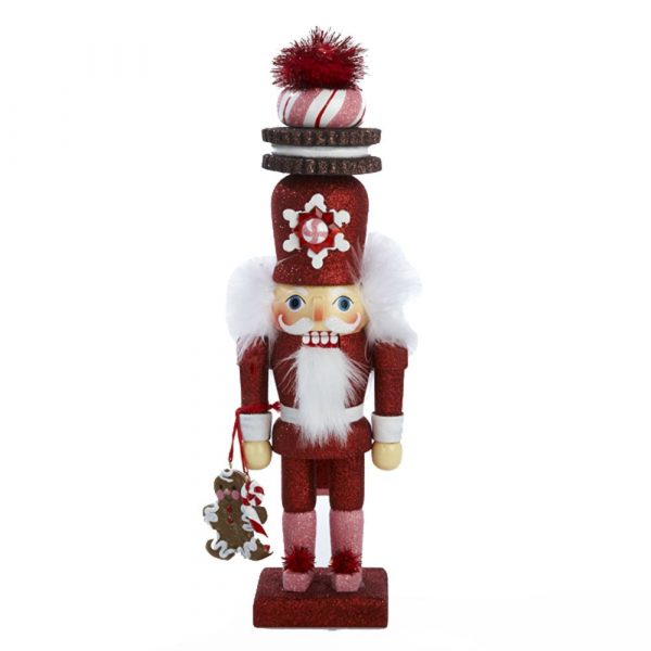 HOLLYWOOD GINGERBREAD WITH COOKIE HAT NUTCRACKER