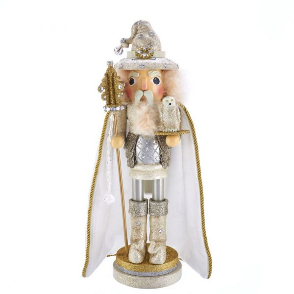 HOLLYWOOD WHITE WIZARD NUTCRACKER