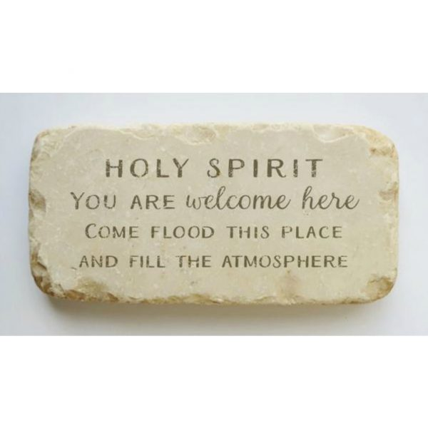 HOLY SPIRIT HALF AND QUARTER STONE BLOCK