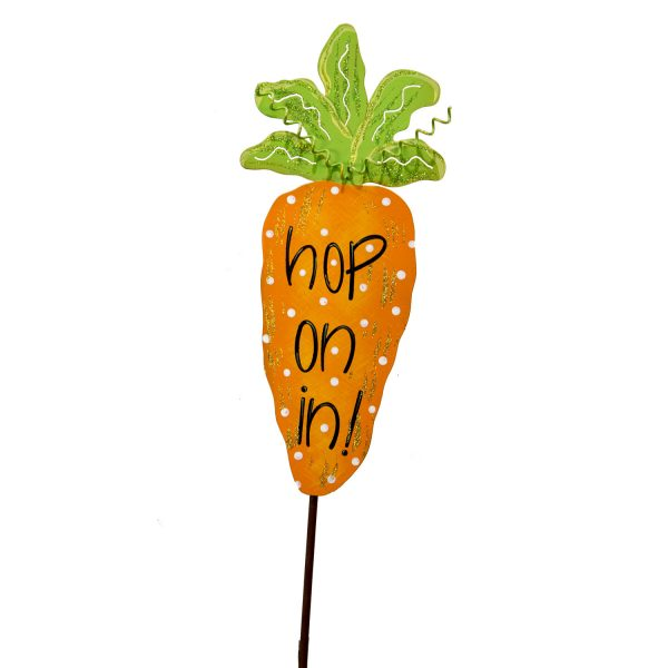 """HOP ON IN"" CARROT YARD STICK"