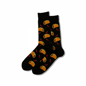HOT SOX MEN'S TACO SOCKS