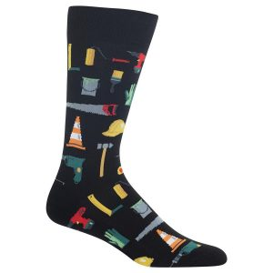 HOT SOX MEN'S TOOLS CREW SOCKS