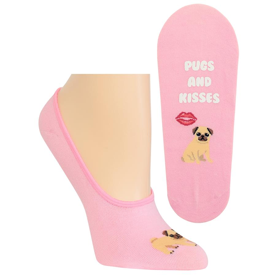 HOT SOX PUGS AND KISSES SOCKS