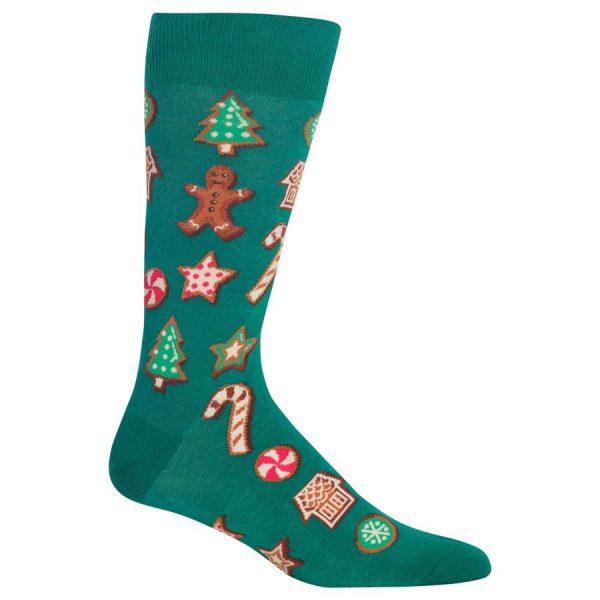 HOTSOX MEN'S CHRISTMAS COOKIES SOCKS