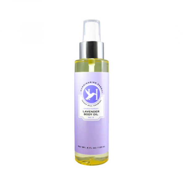 HUMMINGBIRD FARMS LAVENDER BODY OIL