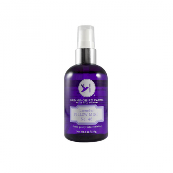 HUMMINGBIRD FARMS LAVENDER PILLOW MIST