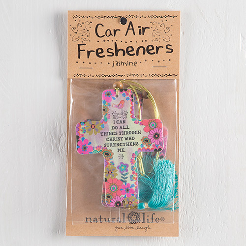 I CAN DO ALL THINGS AIR FRESHENER
