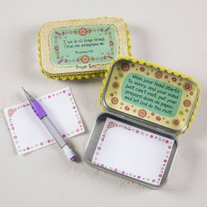 I CAN DO ALL THINGS PRAYER BOX