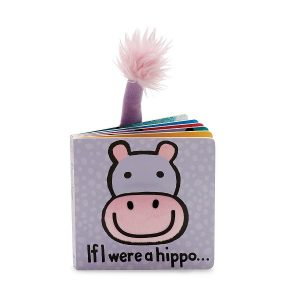 JELLY CAT IF I WERE A HIPPO BOOK