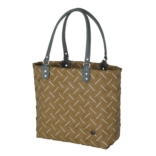 INTENSE WOVEN REUSABLE SHOPPING TOTE