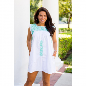 J MARIE WHITE SIENNA DRESS
