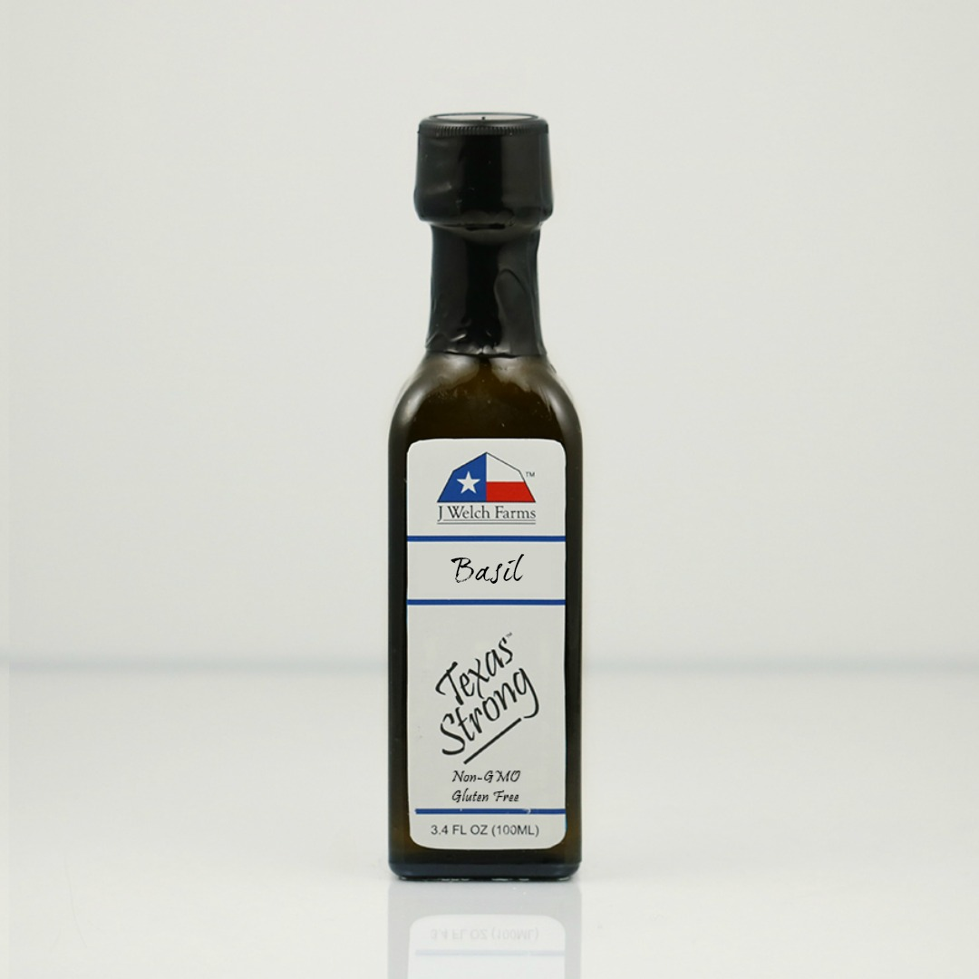 J WELCH FARMS BASIL EXTRA VIRGIN OLIVE OIL