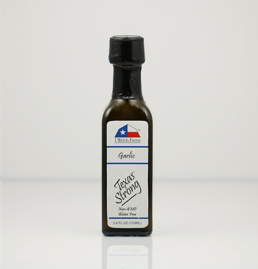 J WELCH FARMS GARLIC EXTRA VIRGIN OLIVE OIL
