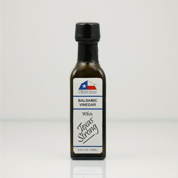 J WELCH FARMS WHITE BALSAMIC VINEGAR