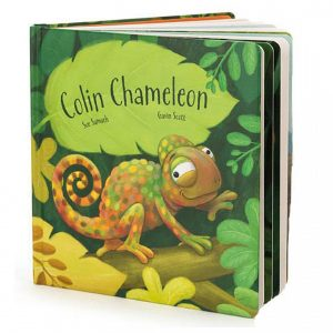 JELLY CAT COLIN CHAMELEON BOOK