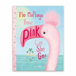 JELLY CAT FLO MAFLINGO HOW PINK CAN SHE GO? BOOK