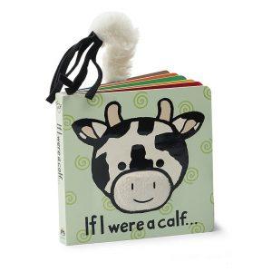 JELLY CAT IF I WERE A CALF BOOK
