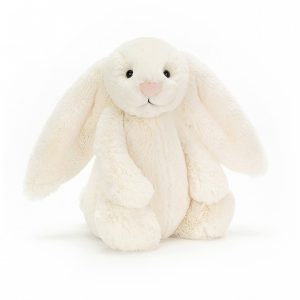 JELLY CAT LARGE CREAM BASHFUL BUNNY