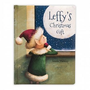 JELLY CAT LEFFY'S CHRISTMAS GIFT BOOK