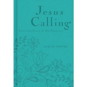 JESUS CALLING TEAL COVER EDITION
