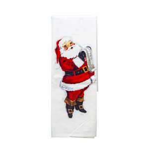 JOLLY OLD SANTA TOWEL