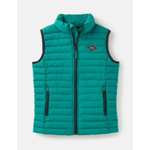 JOULES USA GREEN CROFTON PACKAWAY GILET