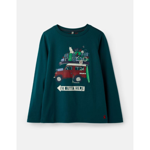JOULES USA OUTTA HERE FINLAY T-SHIRT