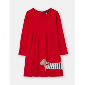 JOULES USA RED DOG MILLICENT KNITTED DRESS