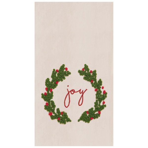 JOY WREATH TOWEL