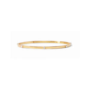 JULIE VOS PEARL CRESCENT BANGLE