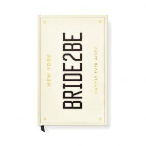 KATE SPADE NEW YORK BRIDAL NOTEBOOK - BRIDE 2 BE