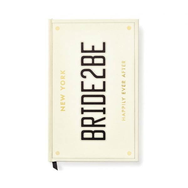 KATE SPADE NEW YORK BRIDAL NOTEBOOK - BRIDE 2 BE