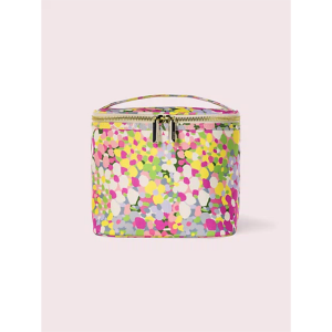 KATE SPADE NEW YORK FLORAL DOT LUNCH TOTE