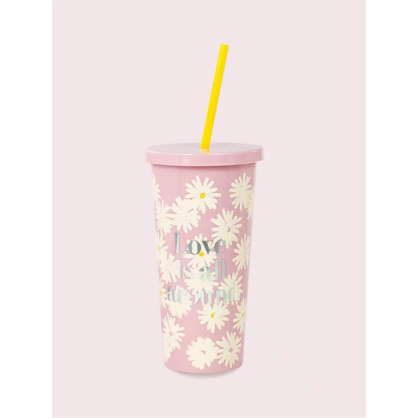 KATE SPADE NEW YORK LOVE IS ALL AROUND TUMBLER