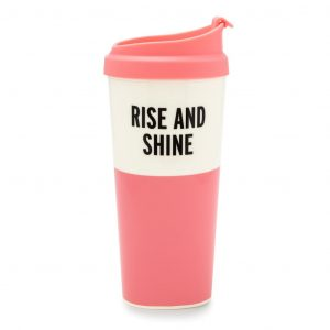 KATE SPADE NEW YORK THERMAL MUG - RISE AND SHINE